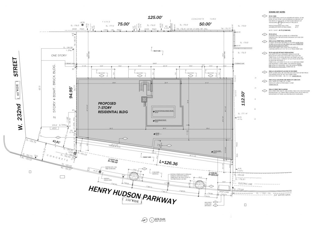 3128 Henry Hudson Parkway floorplan, by C3D Architecture