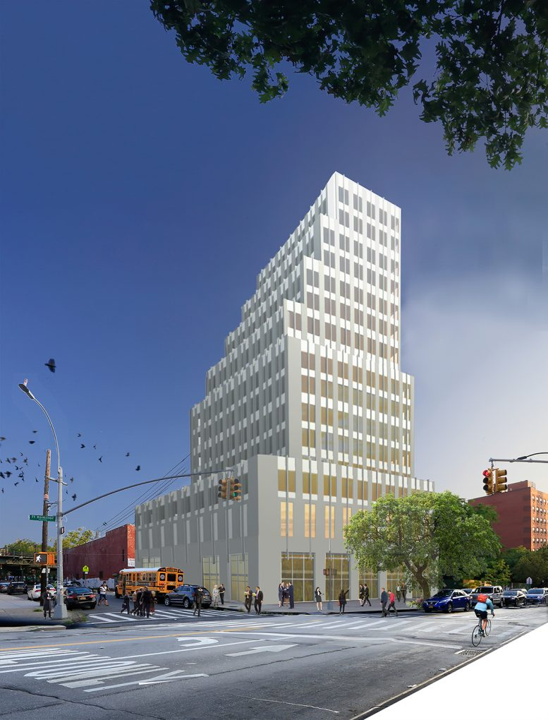 4218 Fort Hamilton Parkway, rendering courtesy Cycle Architecture and Planning