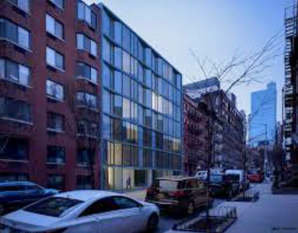443 West 54th Street, design by ODA