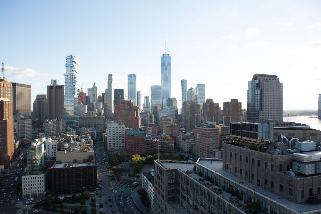 FiDi, as seen from 565 Broome Street, image by Andrew Campbell Nelson