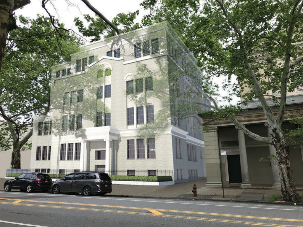 991 Saint Johns Place, rendering by PKSB
