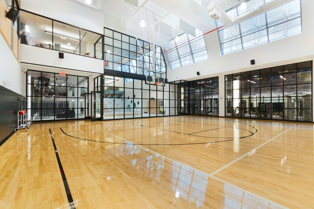 Basketball Court, image at the Max