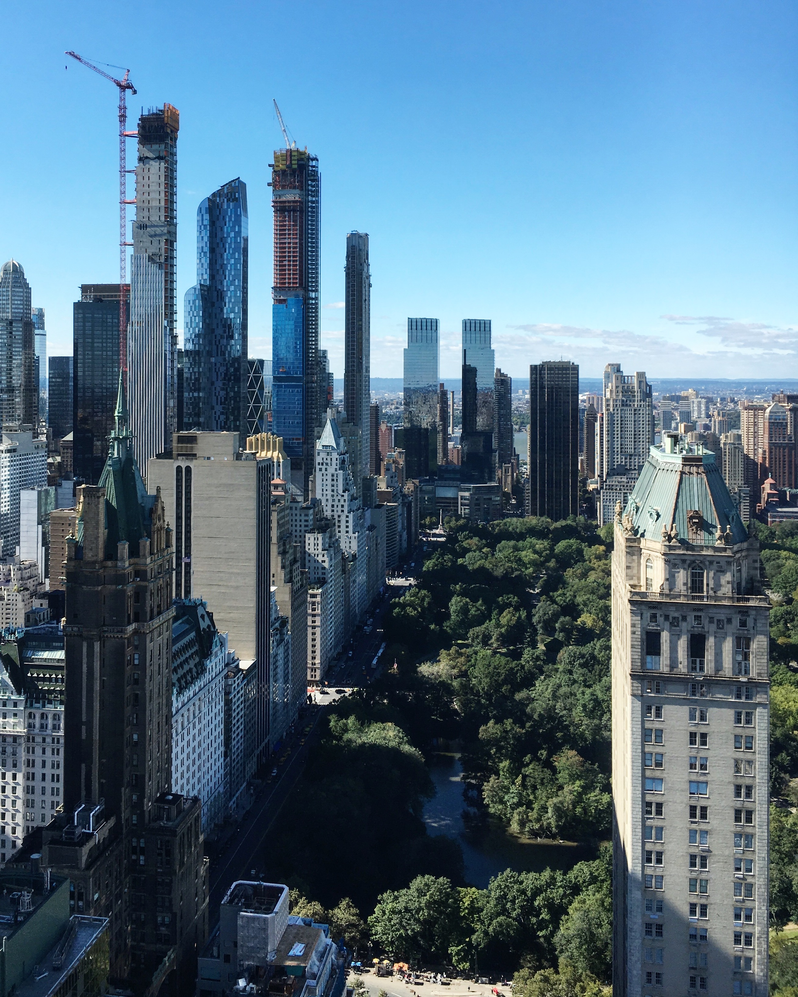 Central Park New York: Sales Launch For Extell's Central Park Tower At 217 West