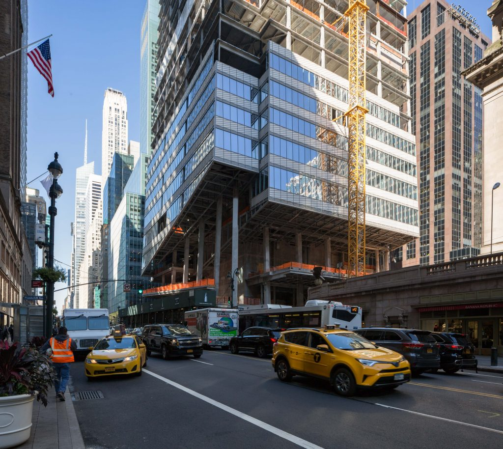 One Vanderbilt base, image by Andrew Campbell Nelson