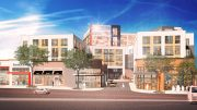 Rendering of The Collection, a mixed–use project in White Plains