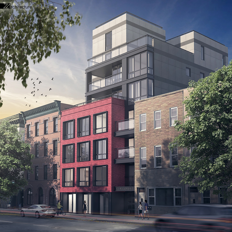 105 Rogers Avenue in Crown Heights