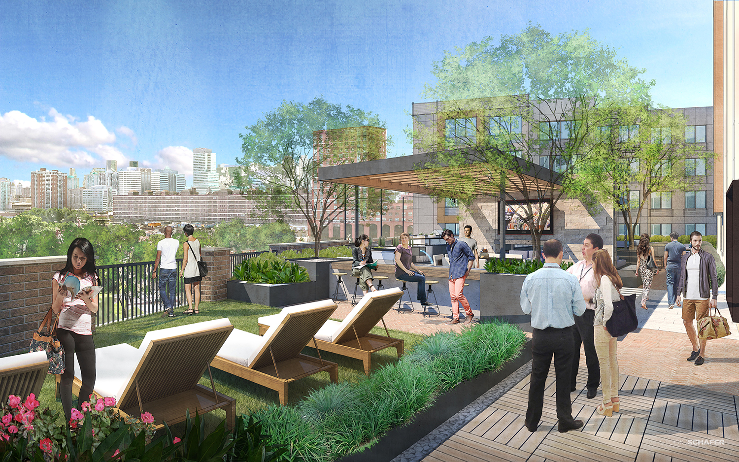 Rendering of 39 New York Avenue in Jersey City