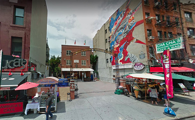 111 Mulberry Street in Little Italy, Manhattan
