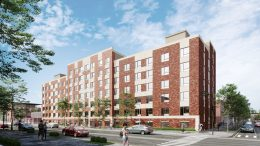 1218 Apartment Building Rendering Courtesy of Badaly Architects