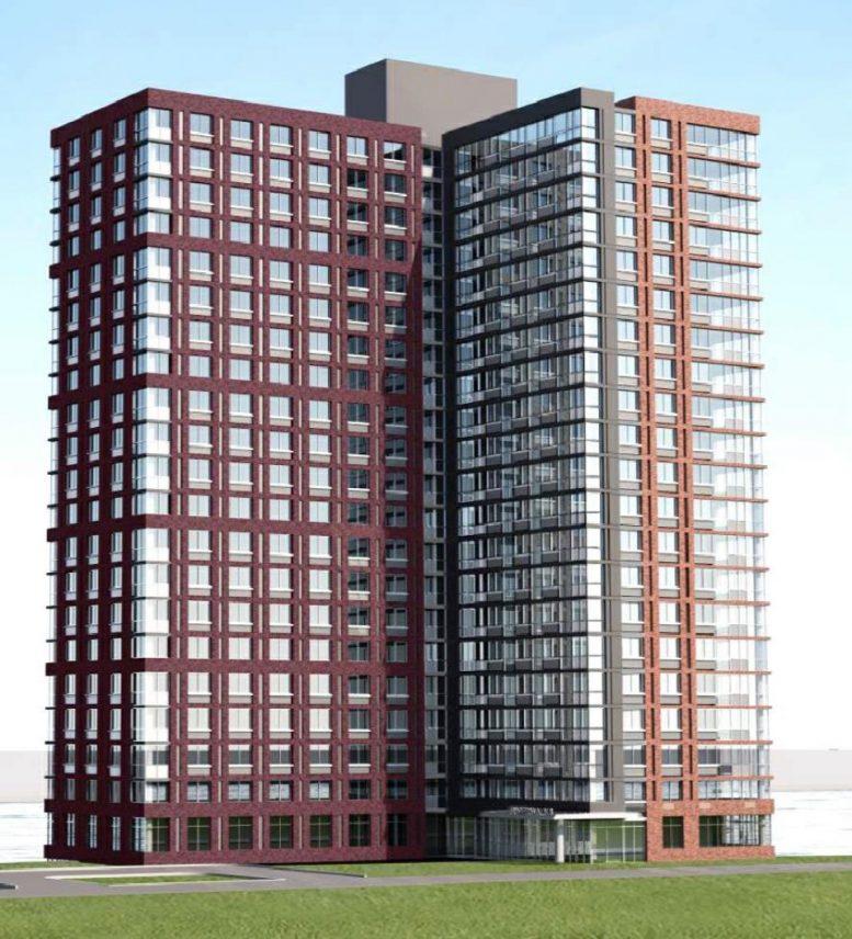 Roosevelt Island Apartments: Rendering Revealed For Riverwalk 8 At 460 Main Street, On