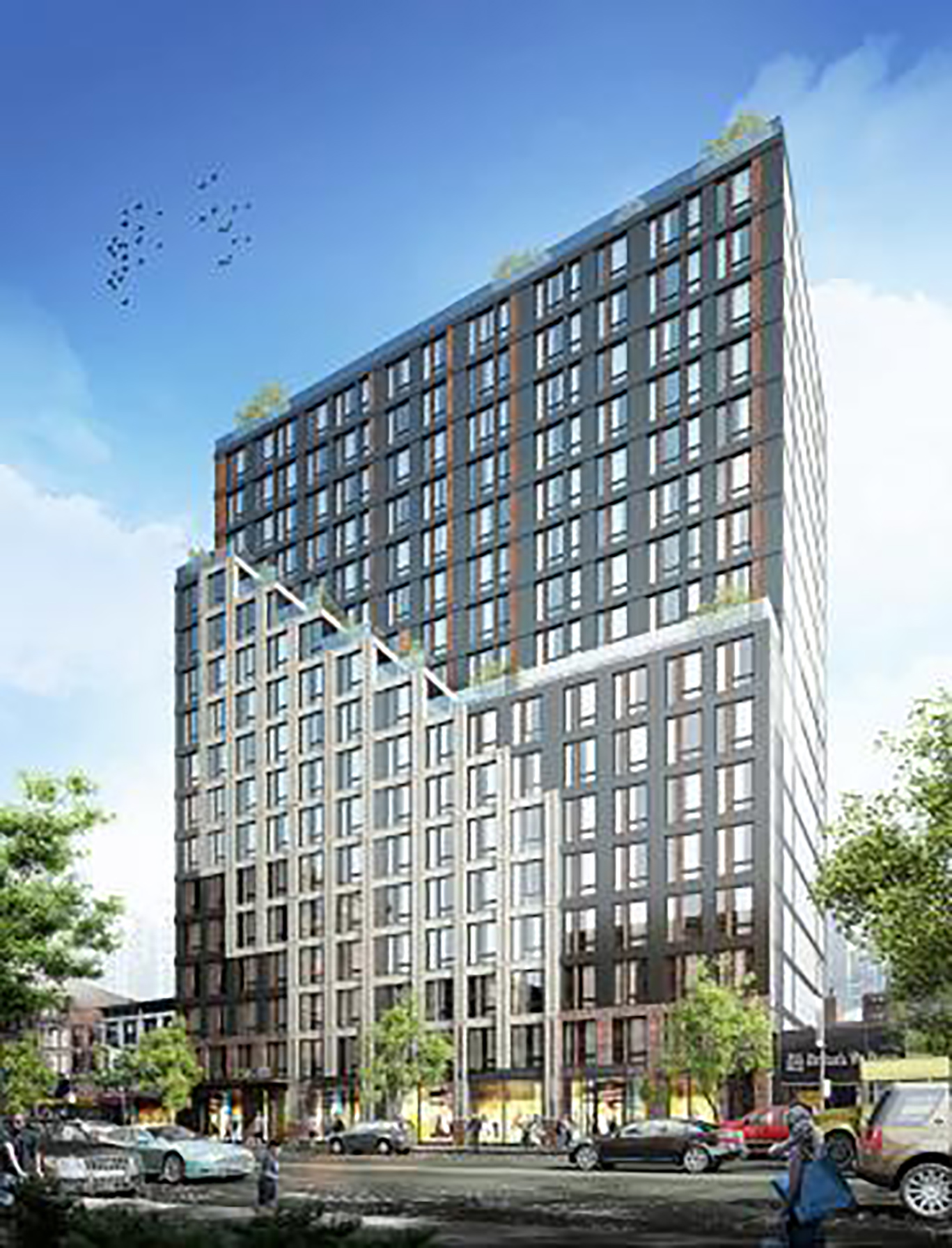 54-62 West 125th Street Rendering