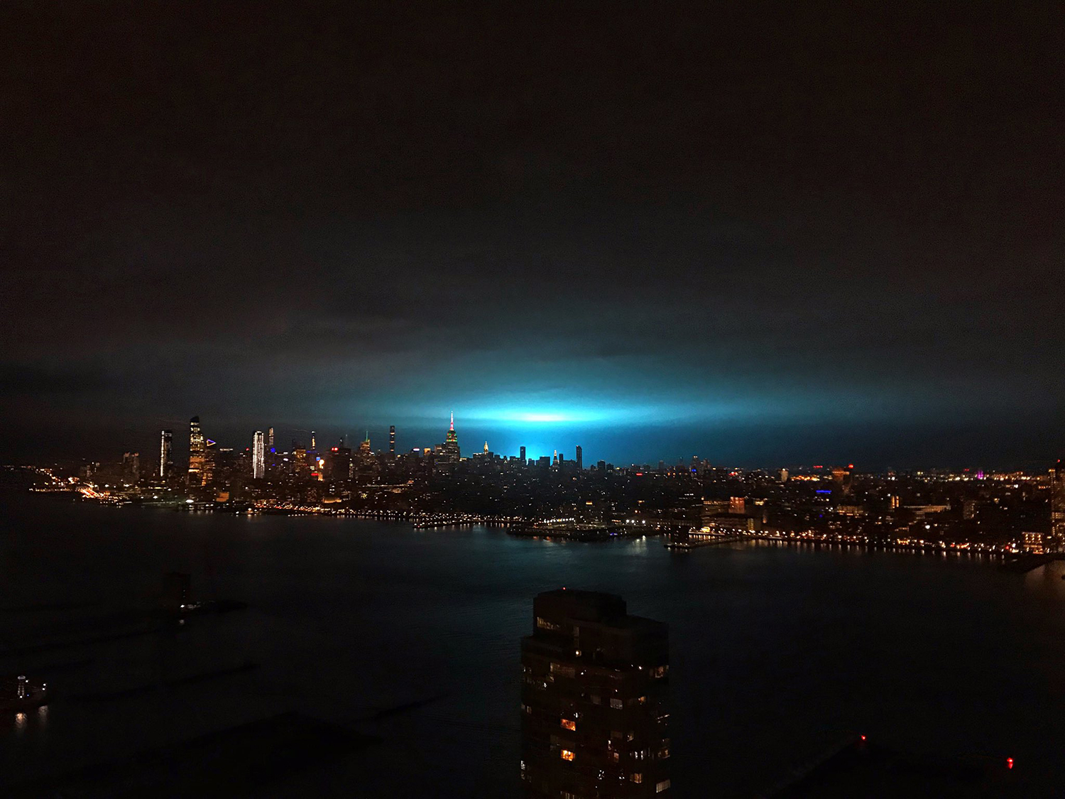 Astoria Powerplant Explosion
