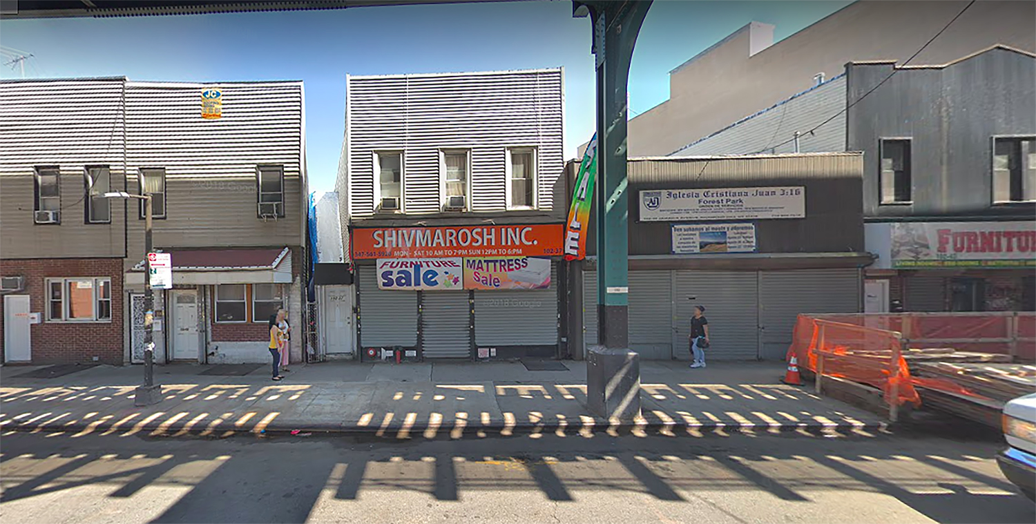 102-37 Jamaica Avenue in Woodhaven, Queens