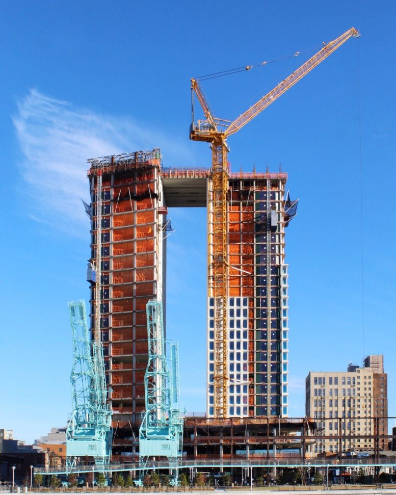 Section 8 Apartments In Brooklyn: Upper Half Of 1 South First Begins To Conjoin Above Domino