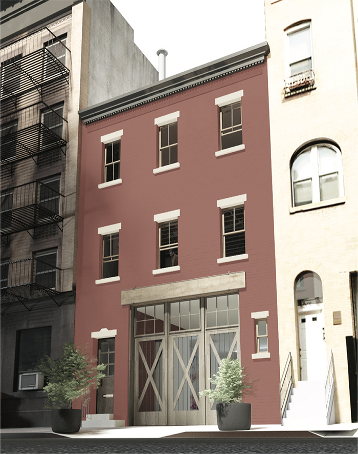 Alterations Proposed For Historic Manhattan Townhouse At 29 Downing