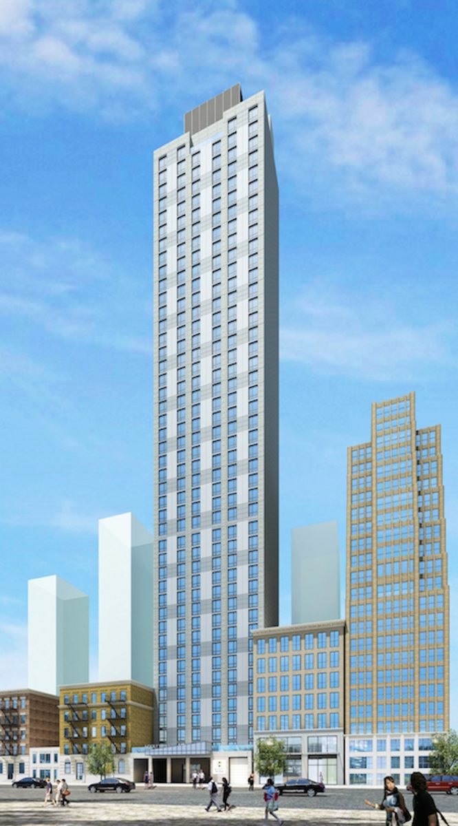 140 West 28th Street, rendering by Gene Kaufman