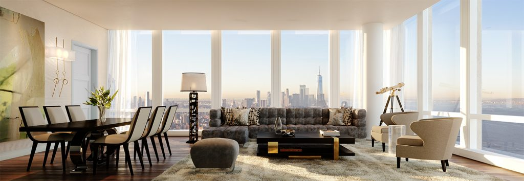 35 Hudson Yards Great Room. Courtesy of Related-Oxford