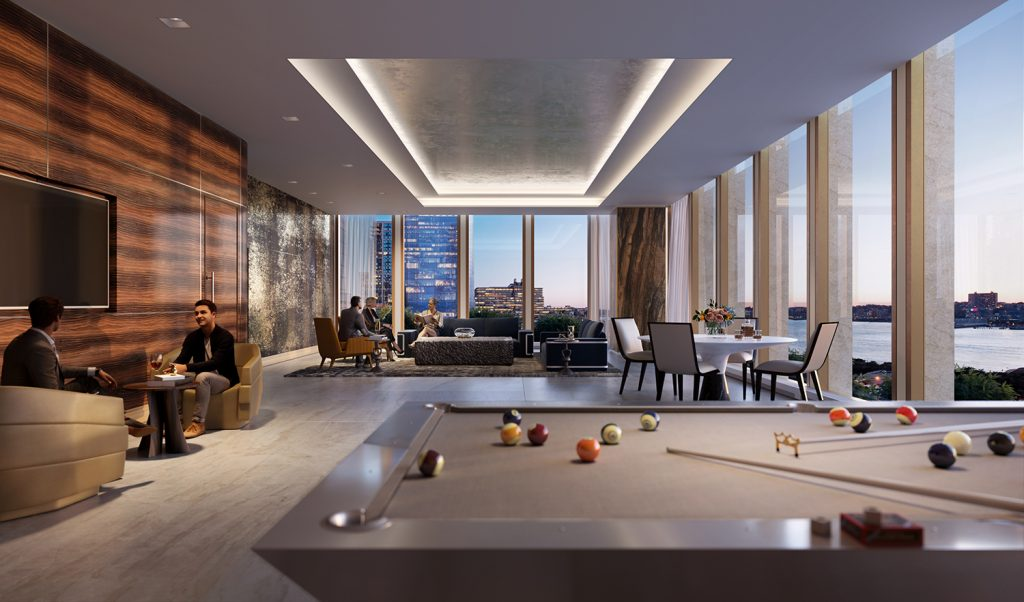 35 Hudson Yards Lounge. Courtesy of Related-Oxford