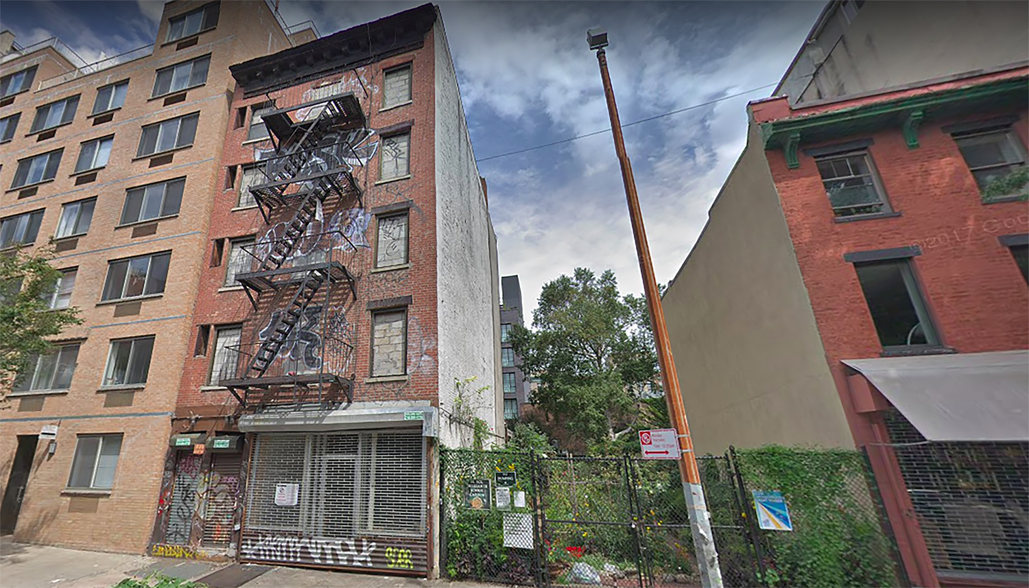 535 East 12th Street in the East Village, Manhattan