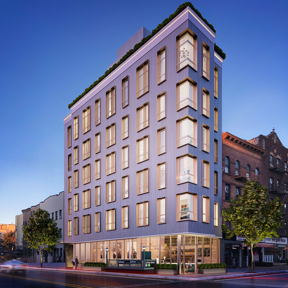 Exclusive New Renderings Reveal Mixed Use Residential Project At 580 Lorimer Street In Williamsburg Brooklyn