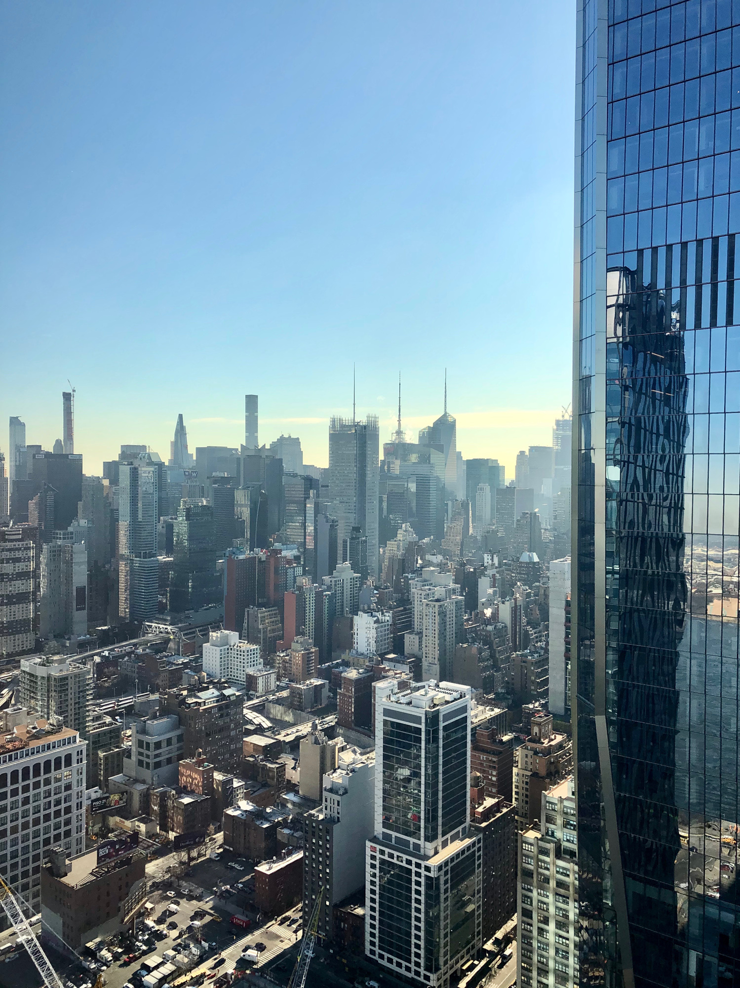 Yimby Tours Supertall Views From 35 Hudson Yards With