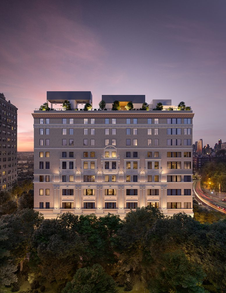 Rendering of One Prospect Park West - Binyan Studios