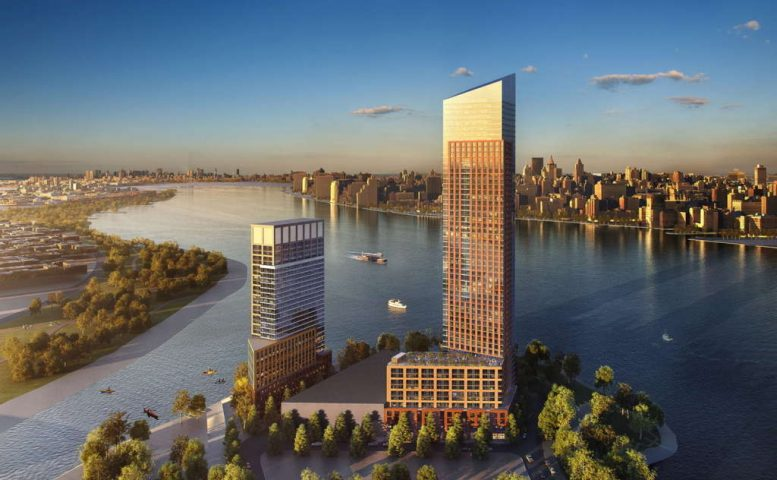1-15 57th Street and 57-28 2nd Avenue, rendering by Handel Architects