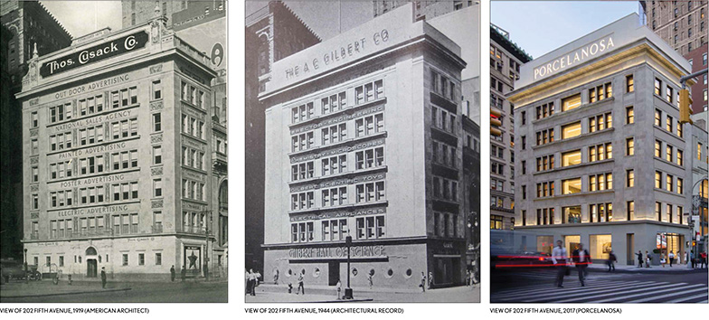 Historical photos 202-204 Fifth Avenue