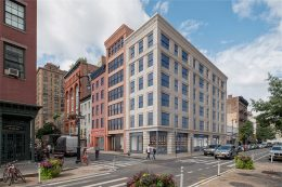 Rendering of 38 West 8th Street - Morris Adjmi Architects
