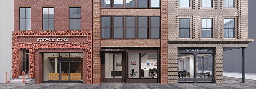 Rendering of 38 West 8th Street - Morris Adjmi Architects
