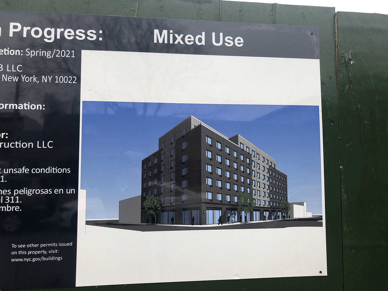 Rendering of 1389 Broadway in Bushwick, Brooklyn - GF55 Partners