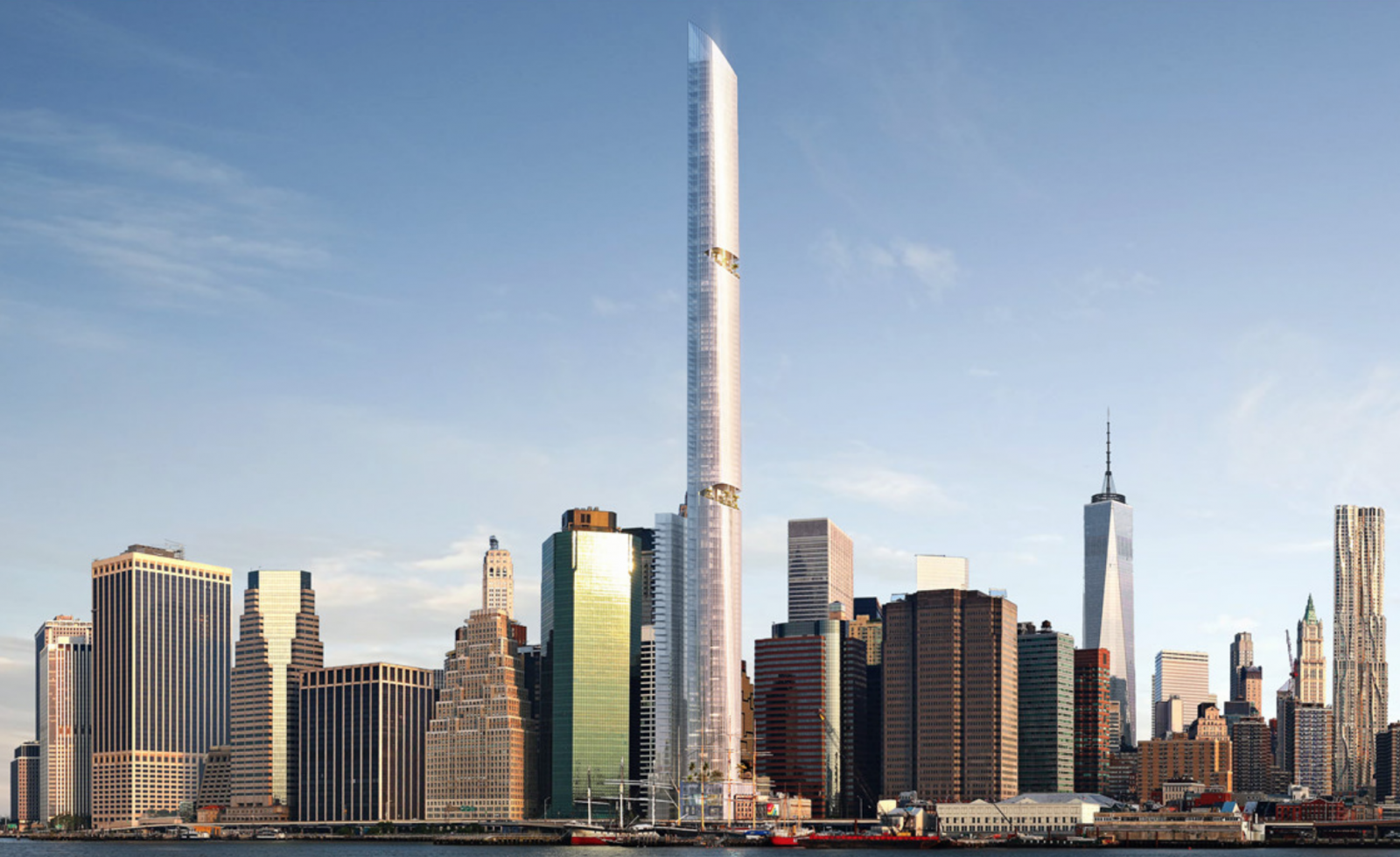 Exclusive Reveal for Lower Manhattan's Tallest Proposed Supertall, at 80 South Street