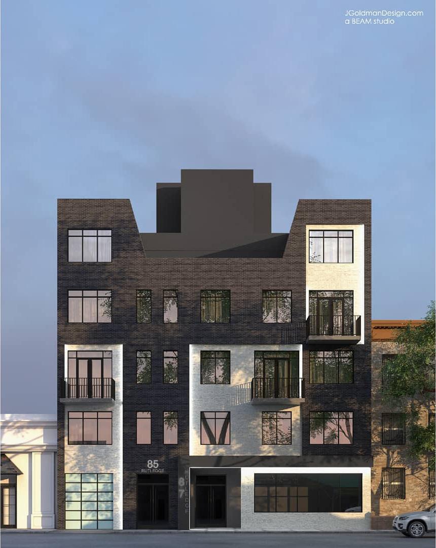 Rendering of 85 Rutledge Street - Beam Architects