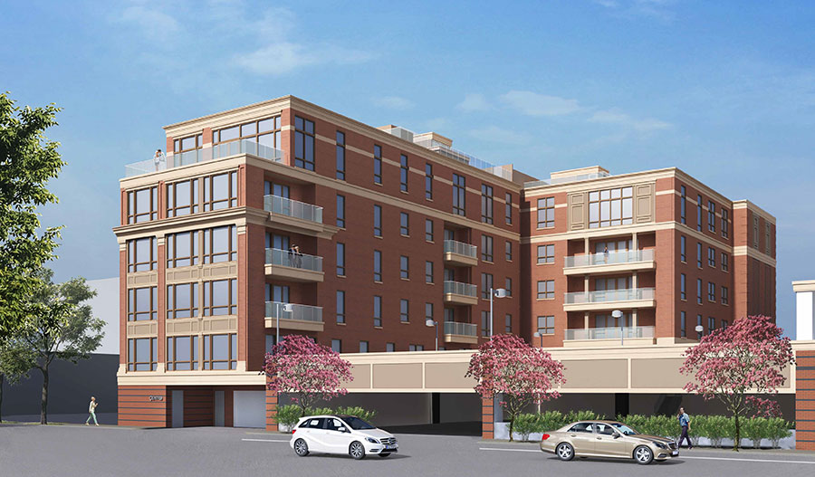 Rendering of Centro Larchmont - Elk Homes