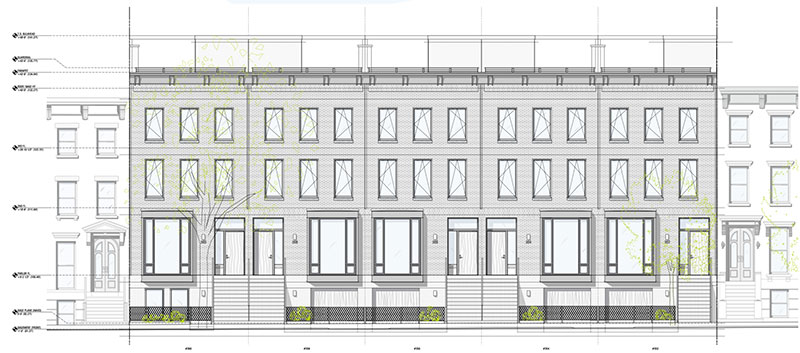 Clermont Rowhouses - CWB Architects