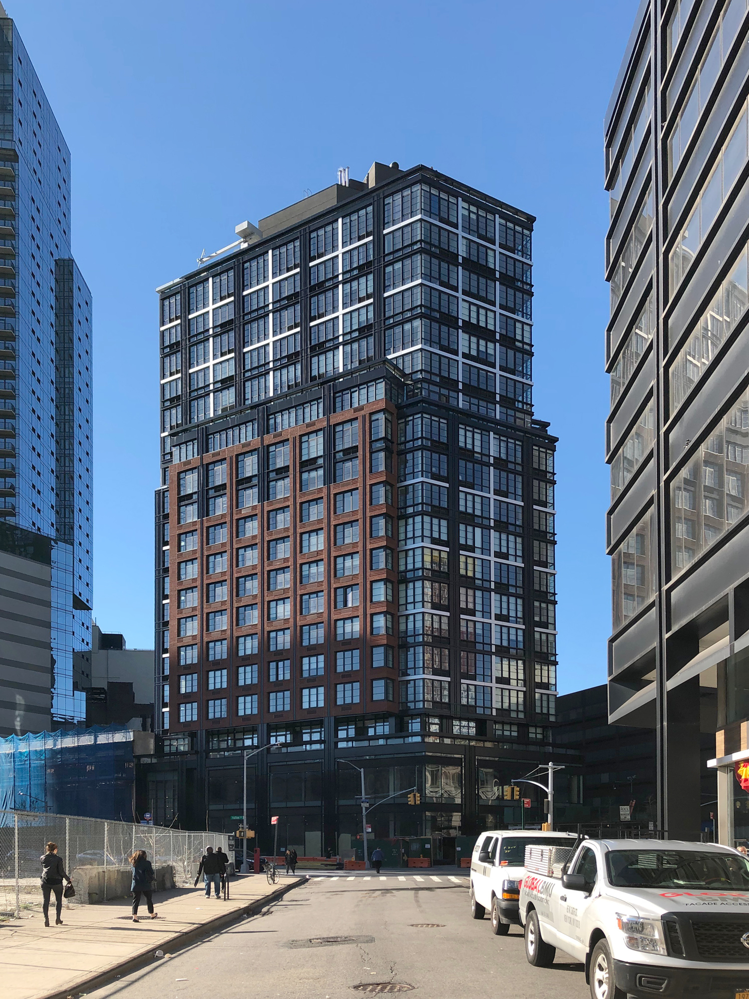 Construction Finishes On 1 Flatbush Avenue In Downtown