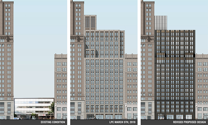 Updated rendering of 200 Montague Street - Beyer Blinder Belle