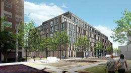 Previous rendering of 25 Maple Avenue - Beyer Blinder Belle