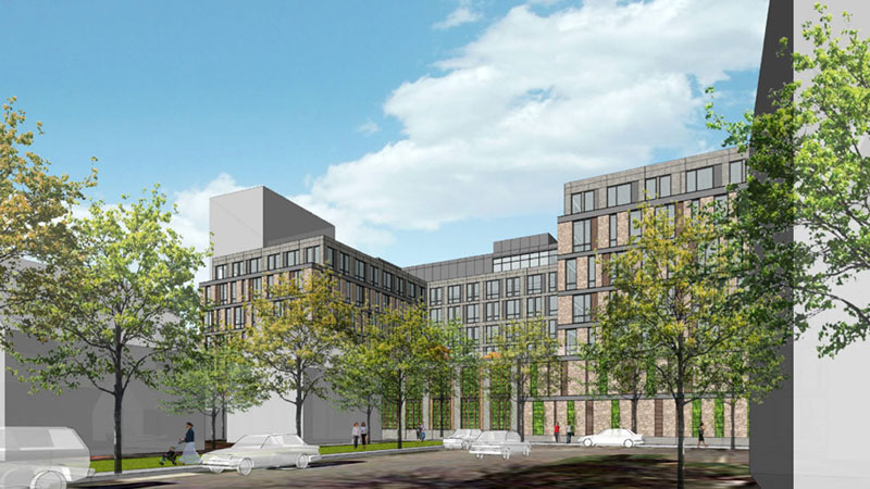 Rendering of 25 Maple Avenue - Beyer Blinder Belle Architects & Planners