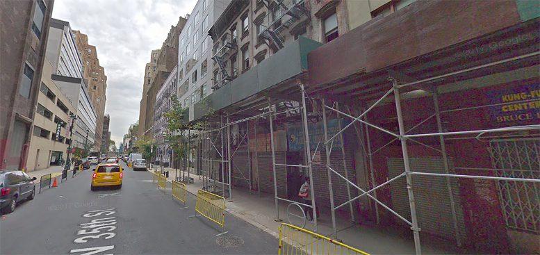 319 West 35th Street in Hudson Yards, Manhattan