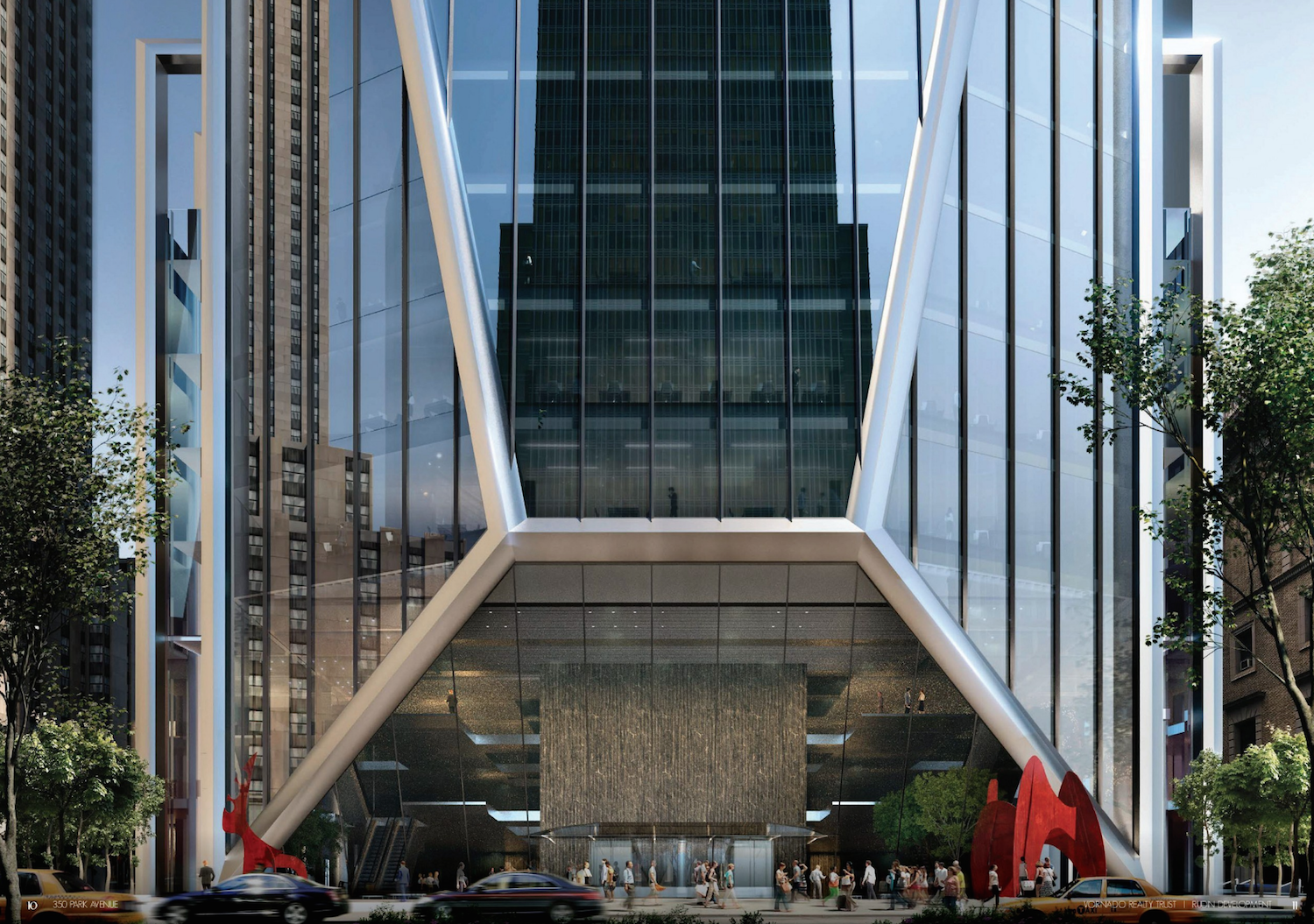 350 Park Avenue, rendering from Vornado / Rudin Management