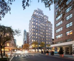 Updated rendering of 760 Madison Avenue - COOKFOX Architects