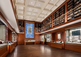 Rendering of The Grolier Club designed by Ann Beha Architects