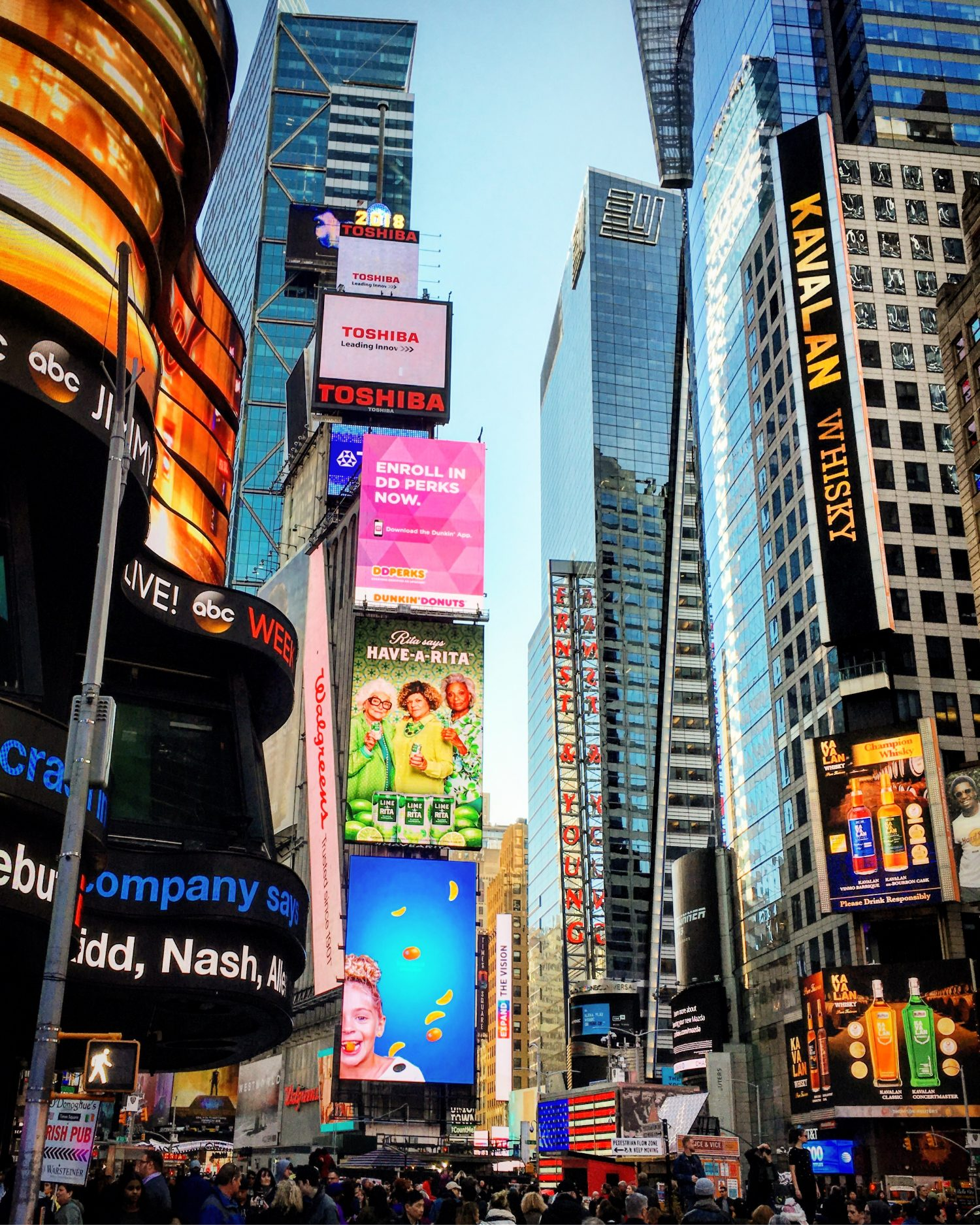 One Times Square's 300-Foot-Lo...