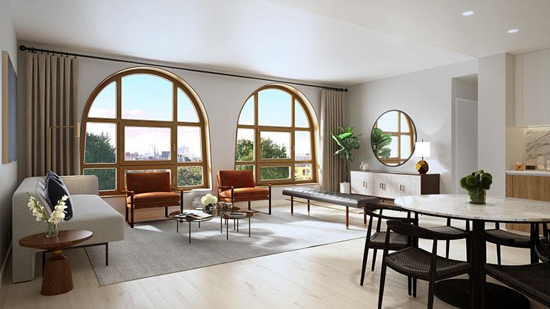 Model residence at 229 9th Street - Happy Living Development