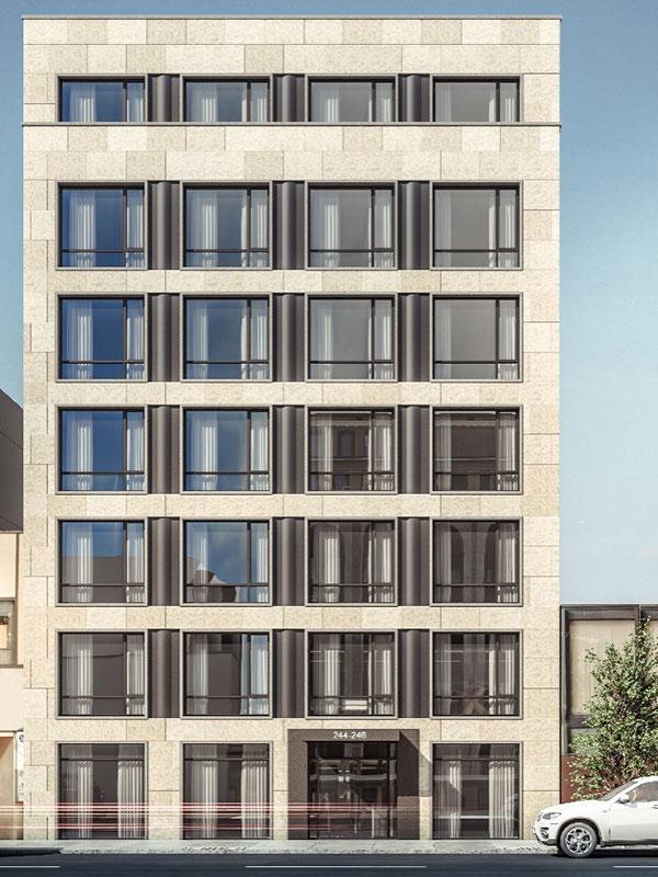 Rendering of 244 East 52nd Street - Minrav Development
