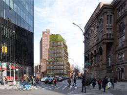 Rendering of 3 St. Marks Place - Morris Adjmi Architects