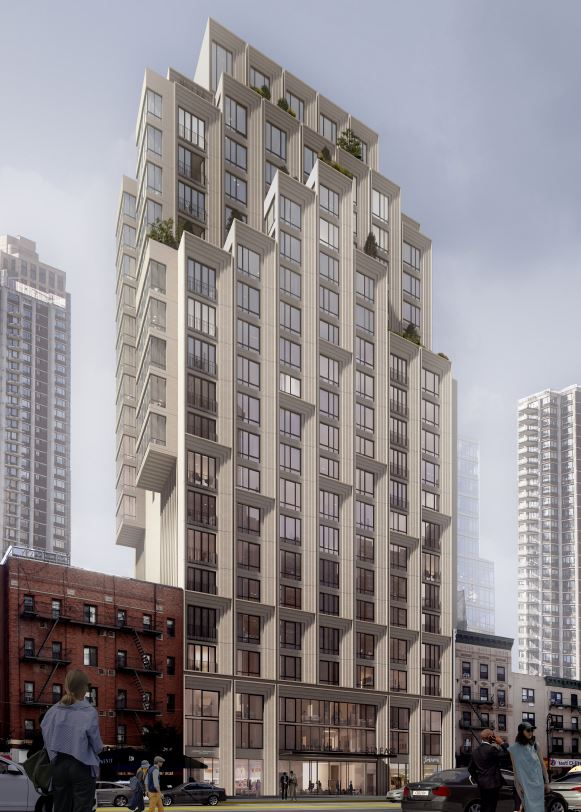 Rendering of 310 East 86th Street - ODA