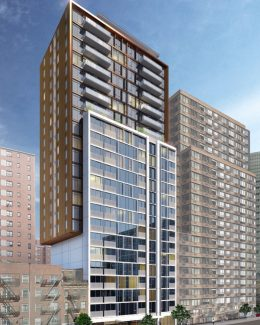 Rendering of 339-345 East 33rd Street Rendering - GF55