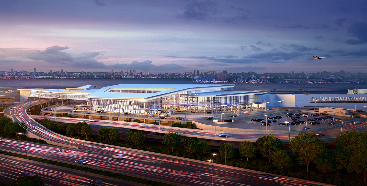 LGA Delta Terminal, Rendering courtesy of Governor Cuomo's Office
